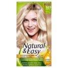 Natural & Easy farba na vlasy Žiarivý chladný blond 523