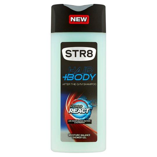 STR8 Hair+Body Hydro React sprchový gél na vlasy a telo 400 ml