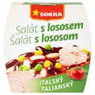 Sokra Italian Salad with Salmon 220 g