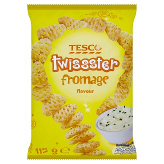 Tesco Twisster Fromage Flavour 115 g