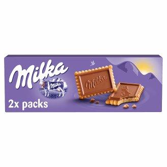 Milka Choco Biscuits sušienky s mliečnou čokoládou z alpského mlieka 150 g