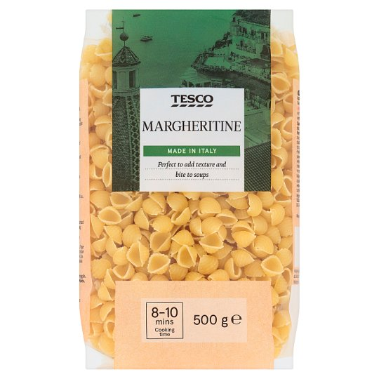 Tesco Margheritine Dried Egg-Free Semolina Pasta 500 g