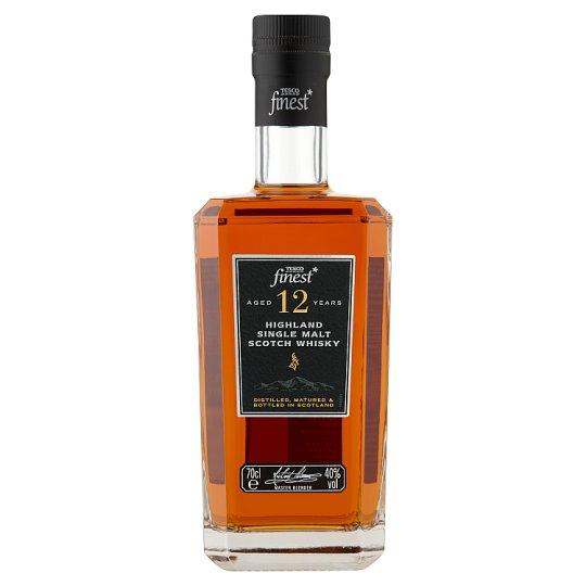 Tesco Finest Highland single malt scotch whisky 0,7 l