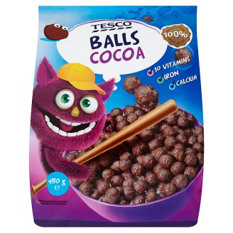 Tesco Cocoa Balls with Vitamins and Minerals 450 g