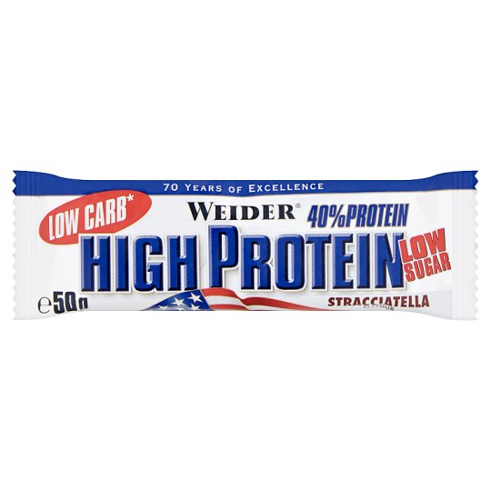 Weider High Protein Bar with Stracciatella Flavour 50 g