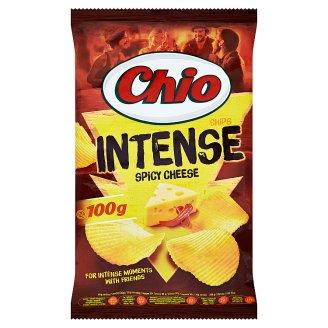 Chio Intense Smažené zemiakové lupienky s príchuťou syra a chili 100 g