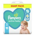 Pampers Active Baby Size 5, 64 Nappies, 11-16 kg