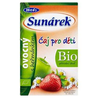 Sunárek Bio ovocný čaj s harmančekom 20 x 1,5 g
