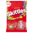Skittles Fruits Minis Chewy Candies in Crunchy Sugar Layer with Fruit Flavour 8 x 26 g
