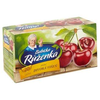 Babička Růženka Fruit Tea with Wild Cherry Flavour 20 x 2 g
