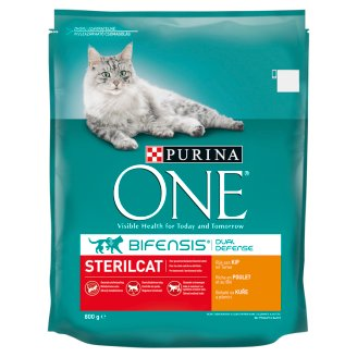 Purina ONE Sterilcat Rich for Chicken and Wheat 800 g