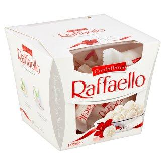 Ferrero Raffaello Confetteria oblátka s náplňou a celou mandľou posypaná strúhaným kokosom 150 g