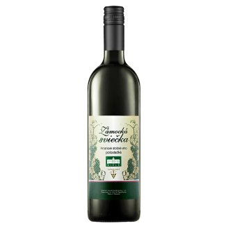 Zámocká sviečka Hroznové víno polosladké biele 1 l