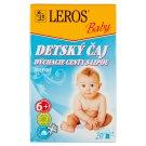 Leros Baby Detský čaj nachladenie bylinný 20 x 2 g