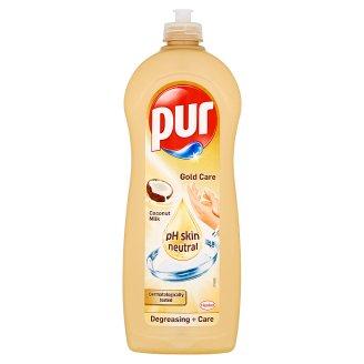 Pur Gold Care prostriedok na ručné umývanie riadu Coconut Milk 700 ml