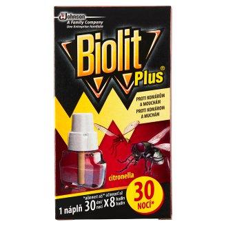 Biolit Plus Náplň do el. odparovača s vôňou citronelly 31 ml