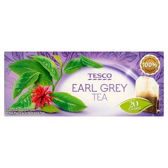 Tesco Earl grey čierny čaj aromatizovaný porciovaný 20 x 1,75 g