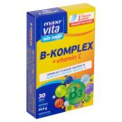 MaxiVita Vaše Zdraví B-komplex + vitamín C 30 tabliet 22,8 g