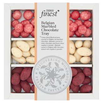 Tesco Finest Belgian Marbled Chocolate Tray 270 g