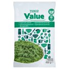 Tesco Value Spinach Overpressure 450 g