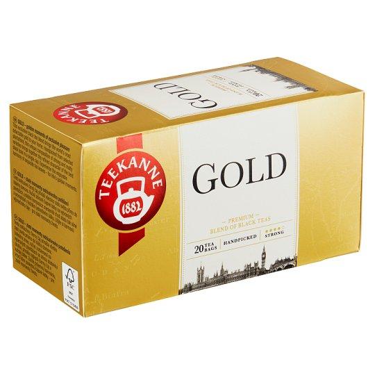 TEEKANNE Gold, Black Tea, 20 Tea Bags, 40 g