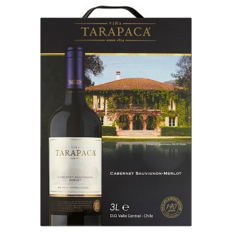Viña Tarapacá Cabernet Sauvignon-Merlot Red Wine 3 L