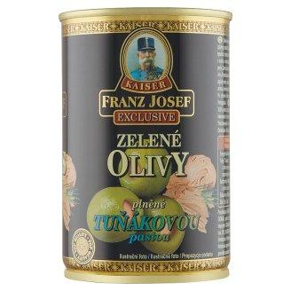 Kaiser Franz Josef Exclusive Green Olives Stuffed with Tuna Paste in Brine 300 g