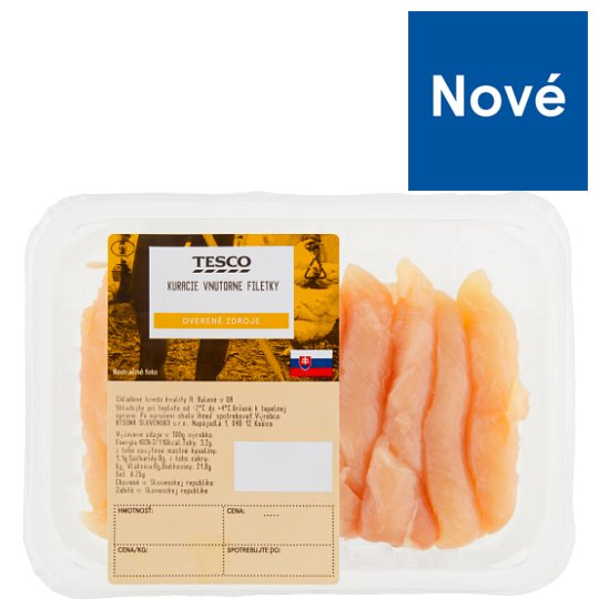 Tesco Chicken Fillets approx. 500 g