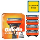 Gillette Fusion Men's Razor Blades – 4 Refills