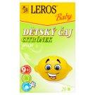 Leros Baby Detský čaj citrónik ovocný 20 x 2 g
