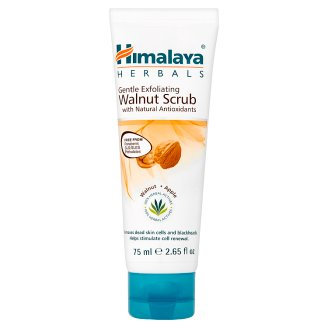 Himalaya Herbals Gentle Exfoliating Walnut Scrub with Natural Antioxidants 75 ml