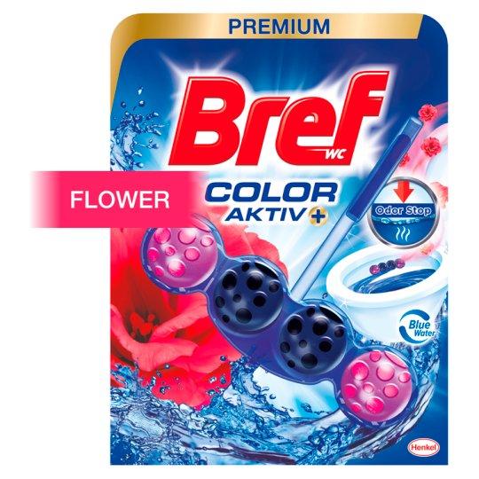 Bref Color Aktiv Fresh Flowers tuhý WC blok 50 g