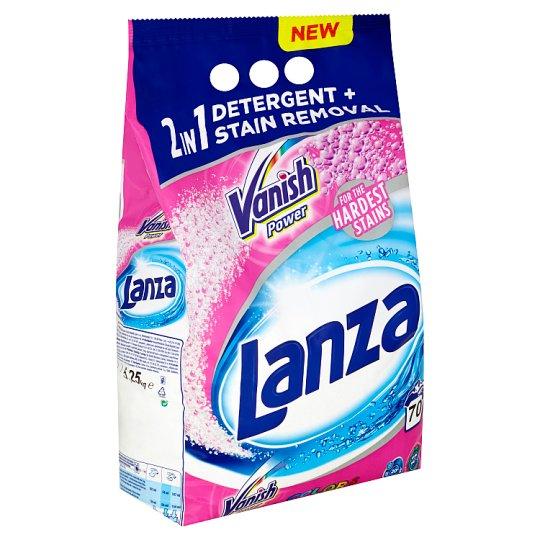 Lanza Vanish 2 v 1 Power Colors prášok na pranie 70 praní 5,25 kg