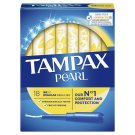 Tampax Pearl Regular Tampons Applicator 18 X
