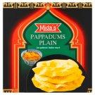 Mida's Pappadums Plain 110 g