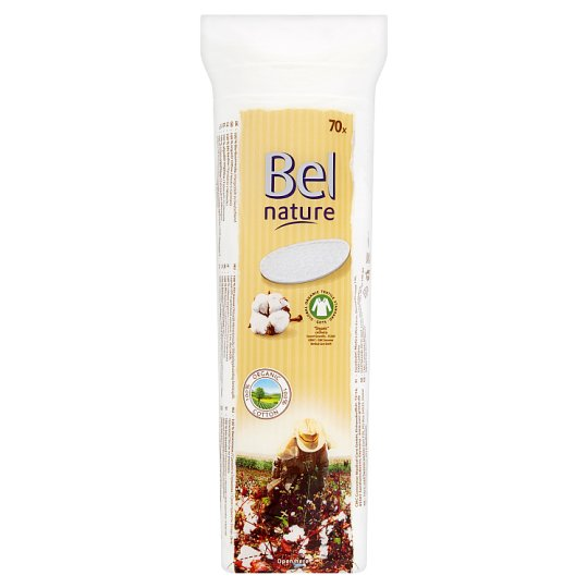Bel Nature Pads from Organic Cotton 70 pcs