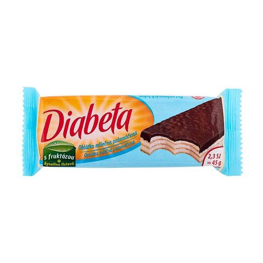 Diabeta Oblátka mliečna polomáčaná 45 g