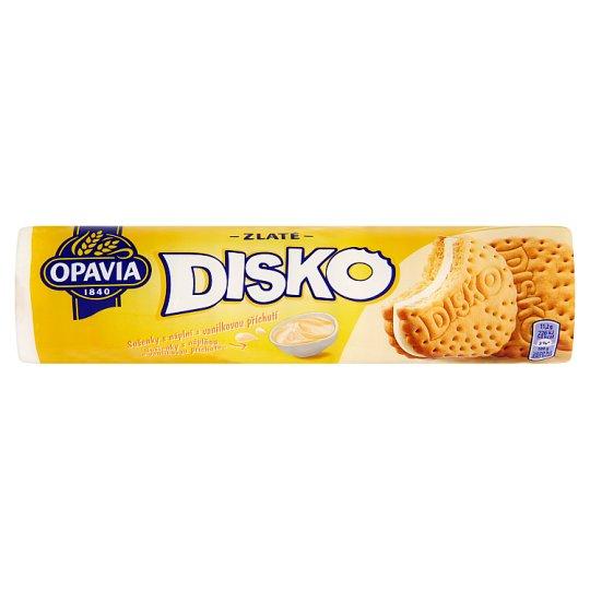 Opavia Zlaté Disko sušienky s náplňou s vanilkovou príchuťou 157 g