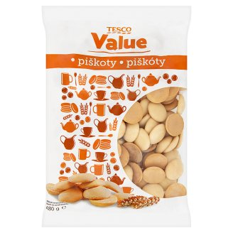 Tesco Value Biscuits 480 g