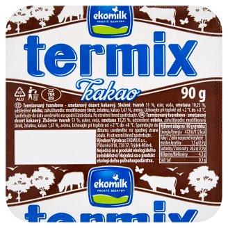 Ekomilk Termix Tvarohovo - smotanový dezert kakao 90 g