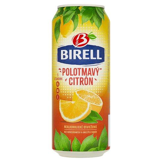 Birell Semi-Dark Lemon Mixed Nonalcoholic Drink 0.5 L