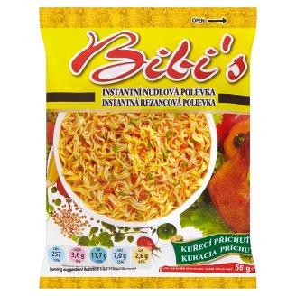 Bibi's Instantná rezancová polievka kuracia príchuť 55 g