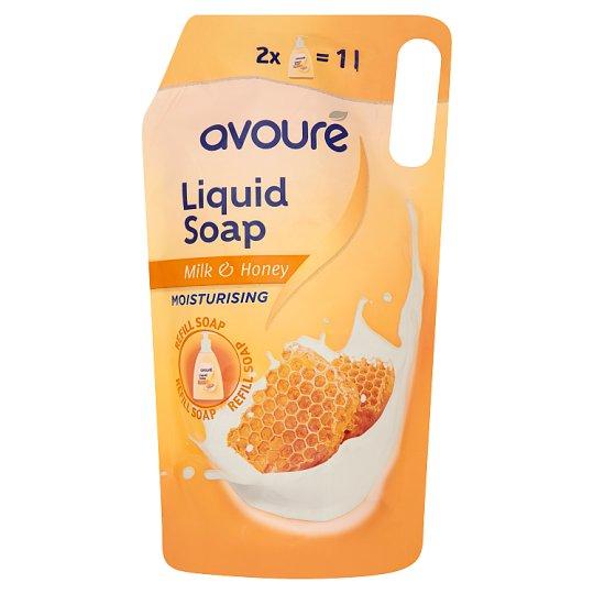 Avouré Milk & honey tekuté mydlo 1 l
