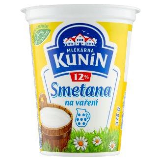 Mlékarna Kunín Smotana 12 % 375 g