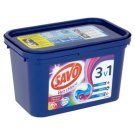 Savo Bez chlóru na farebné oblečenie gélové kapsuly na pranie 17 praní 459 g