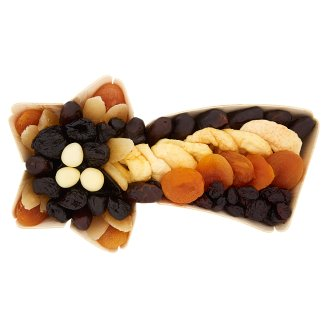 Mix of Dried and Tuned Fruits with Hazelnuts in White Chocolate 400 g
