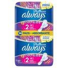 Always Platinum Sanitary Towels Wings Ultra Long Plus (Size 2) 14 Pads