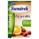 Sunárek Bio ovocný čaj šípkový s pomarančom 20 x 1,5 g