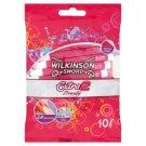 Wilkinson Sword Extra2 Beauty jednorazový holiaci strojček s 2 čepieľkami 10 ks