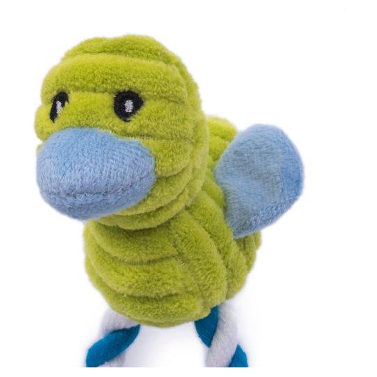 Petface Little Plyšová kačka dlhonohá hračka pre psa